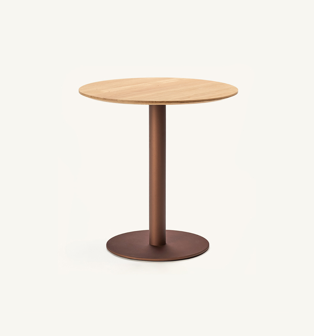 Flamingodining table stand with round top