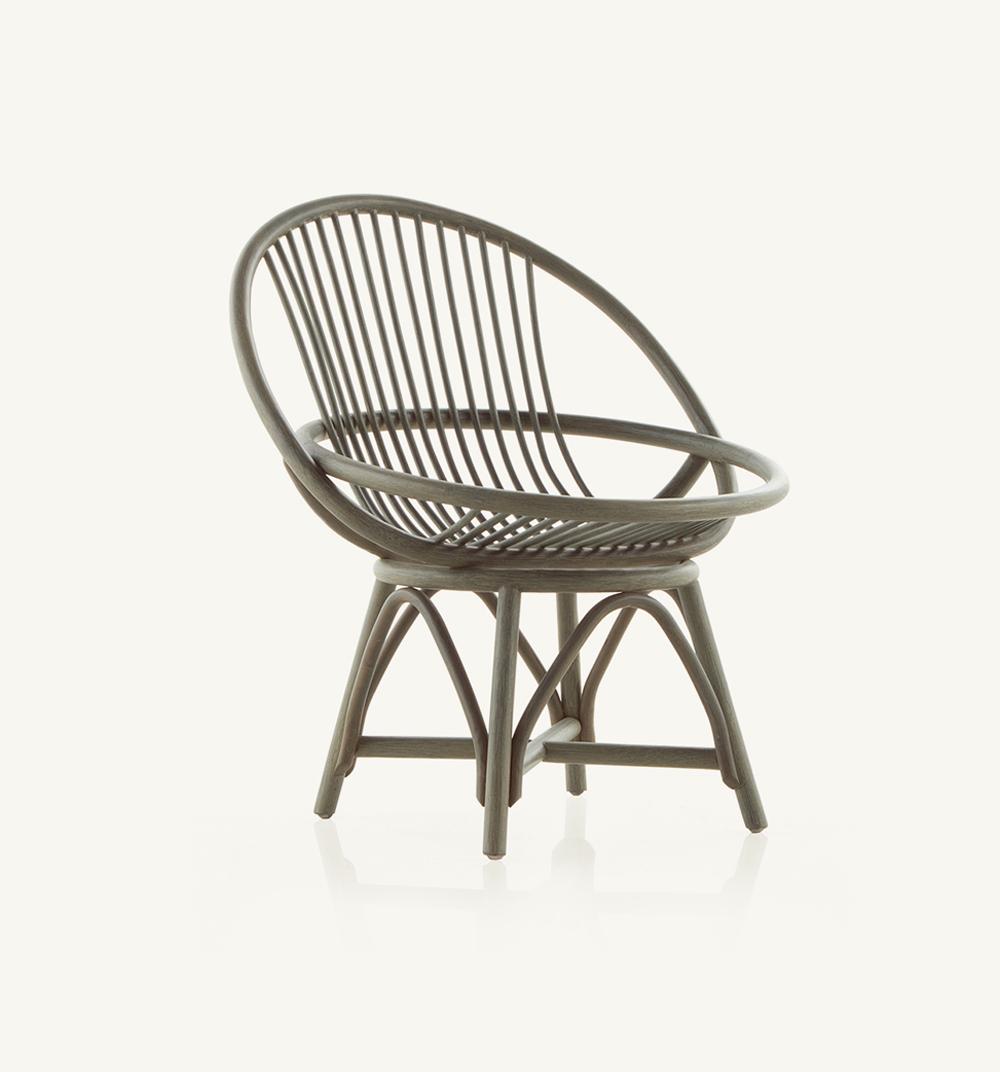 Radial armchair