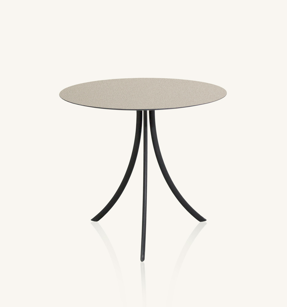 Pied de table avec dessus rond Bistro