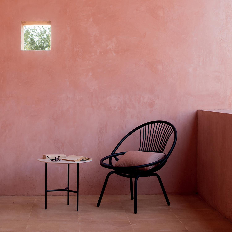 Radial outdoor Armchair