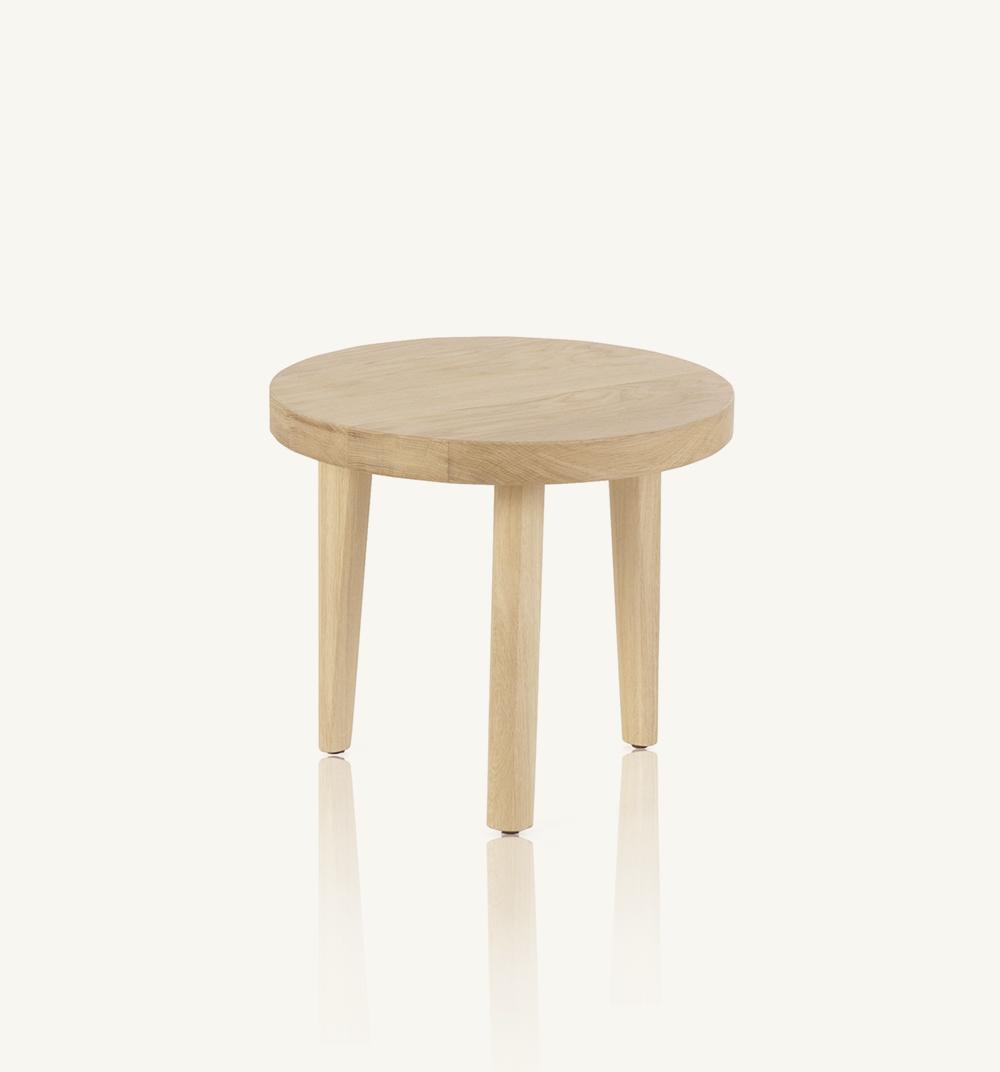 Trio round coffee table