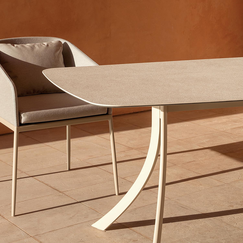 Falcata outdoor Dining table
