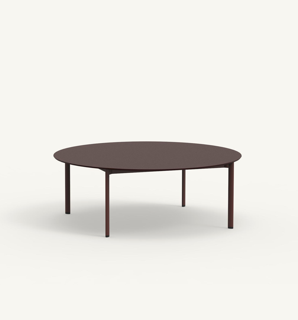 Table basse ronde Bare