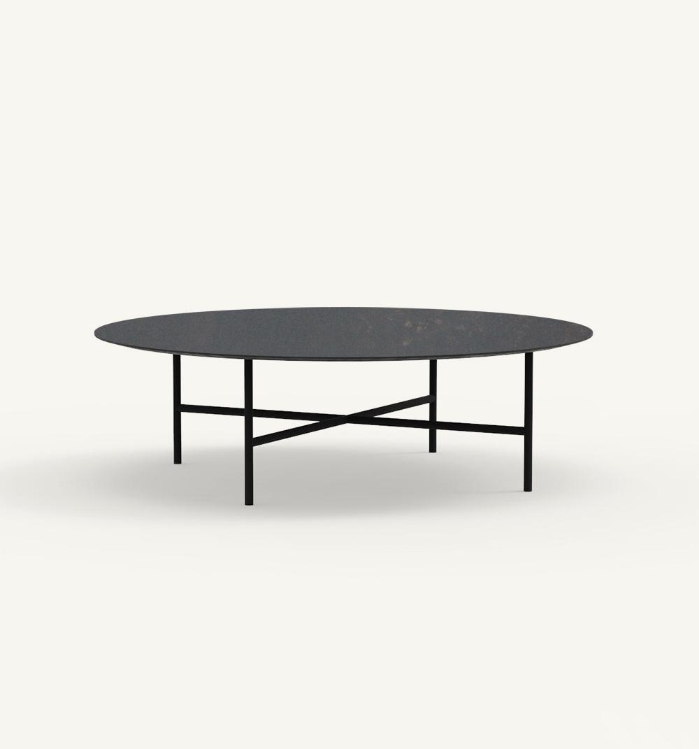 Grada outdoor round coffee table