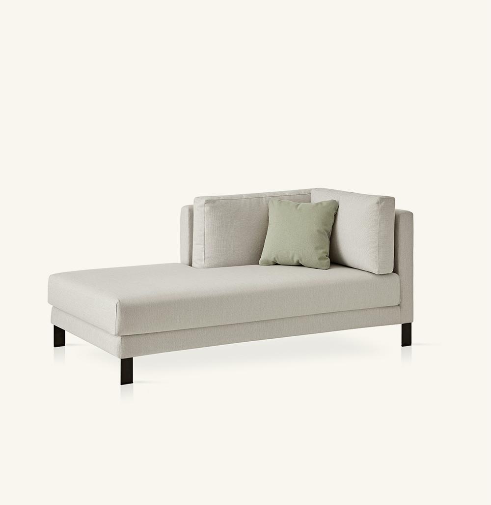 Slimleft chaise longue module