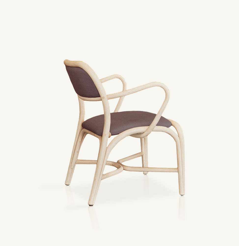 Fontal upholstered armchair
