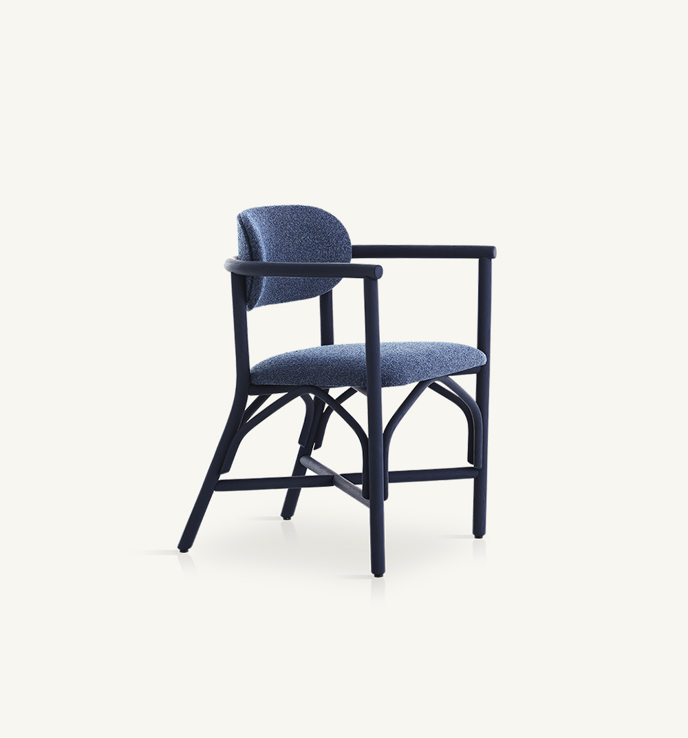 Altetupholstereddining armchair