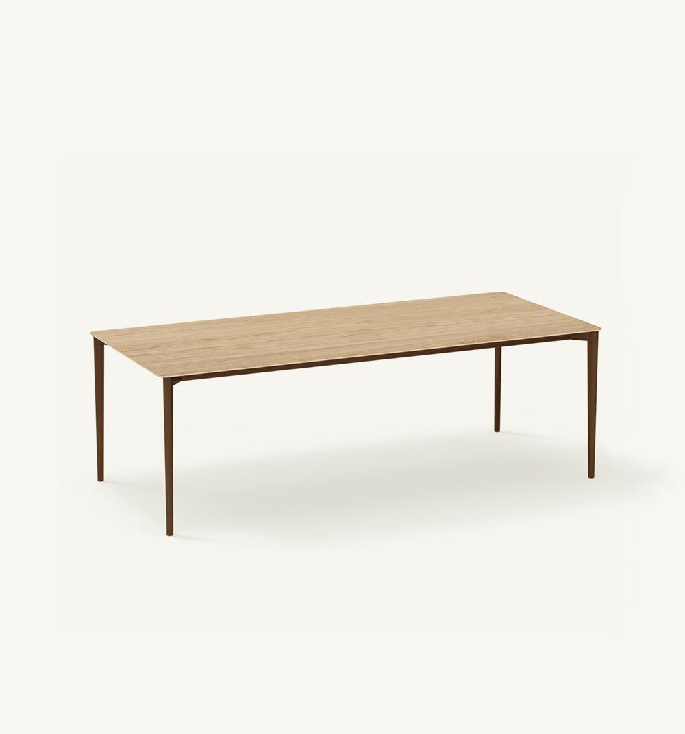 Table rectangulaire Nude indoor