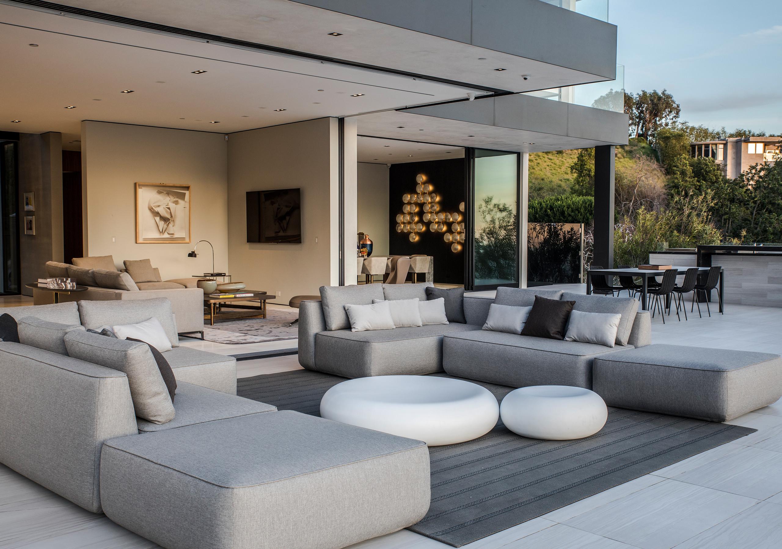 Expormim-USA-California (West Hollywood)-Doheny Residence-Plump ottoman-C879